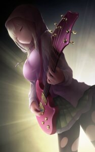 Rating: Safe Score: 55 Tags: boku_wa_tomodachi_ga_sukunai cait guitar kashiwazaki_sena pantyhose torn_clothes User: 椎名深夏