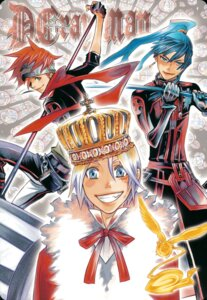 Rating: Safe Score: 5 Tags: allen_walker d.gray-man hoshino_katsura kanda_yu lavi male screening timcanpy User: charunetra