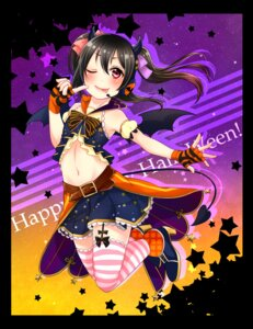 Rating: Safe Score: 25 Tags: halloween headphones heels horns love_live! mutsuki_uto stockings tail thighhighs wings yazawa_nico User: Mr_GT
