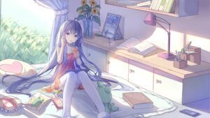 Rating: Safe Score: 98 Tags: dress thighhighs vocaloid xingchen yue_yue User: Mr_GT