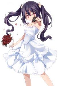 Rating: Safe Score: 42 Tags: dress gun naname wedding_dress User: gogotea28