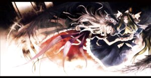 Rating: Safe Score: 5 Tags: iori_(yakata-bako) mima shinki touhou User: Radioactive