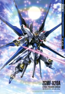 Rating: Safe Score: 28 Tags: gundam gundam_seed gundam_seed_destiny mecha mutaguchi_hiroki strike_freedom_gundam sword wings User: Radioactive