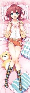 Rating: Questionable Score: 61 Tags: bra cura dakimakura lose maitetsu migita_hibiki open_shirt User: Twinsenzw