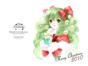 Rating: Safe Score: 10 Tags: christmas gensoudou shiitake User: Lilayuriko