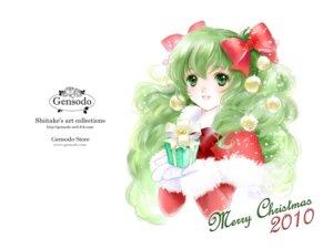 Rating: Safe Score: 10 Tags: christmas gensoudou shiitake User: Lilayuriko