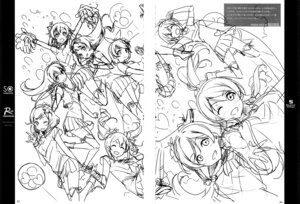 Rating: Safe Score: 5 Tags: 5_nenme_no_houkago cheerleader fixme gap kantoku monochrome sketch thighhighs User: Hatsukoi