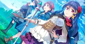 Rating: Safe Score: 12 Tags: akata_itsuki armor heels watashi_nouryoku_wa_heikinchi_de_tte_itta_yo_ne! weapon witch User: kiyoe