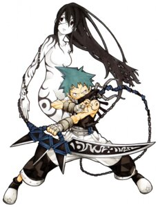 Rating: Questionable Score: 12 Tags: black_star nakatsukasa_tsubaki soul_eater User: Radioactive