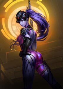 Rating: Safe Score: 49 Tags: ass bodysuit detexted gun liang_xing overwatch tattoo widowmaker User: mash