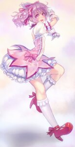 Rating: Safe Score: 27 Tags: chikokuma dress erect_nipples heels kaname_madoka puella_magi_madoka_magica User: blooregardo