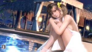Rating: Questionable Score: 43 Tags: cg dead_or_alive dead_or_alive_xtreme_venus_vacation dress misaki_(doa) no_bra User: john.doe
