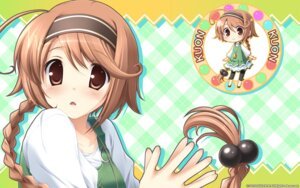 Rating: Safe Score: 27 Tags: chibi hinata_kuon hulotte ikegami_akane wallpaper with_ribbon User: maurospider