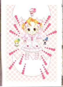 Rating: Safe Score: 5 Tags: binding_discoloration chibi dress hinamori_ami miki peach-pit ran shugo_chara suu User: noirblack