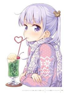Rating: Safe Score: 64 Tags: new_game! suzukaze_aoba sweater tokunou_shoutarou User: Twinsenzw