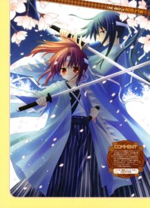 Rating: Safe Score: 7 Tags: japanese_clothes sakurazawa_izumi sword User: fireattack