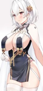 Rating: Questionable Score: 40 Tags: asian_clothes azur_lane kaetzchen no_bra see_through sirius_(azur_lane) stockings thighhighs User: Mr_GT