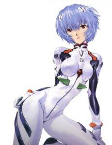 Rating: Safe Score: 51 Tags: ayanami_rei bodysuit detexted neon_genesis_evangelion sadamoto_yoshiyuki User: Gamer_2k4