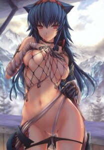 Rating: Explicit Score: 315 Tags: breasts fishnets kizuki_aruchu monster_hunter naruga nipples panty_pull udon-ya User: nihilvoid