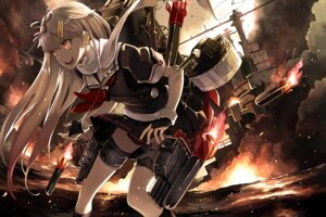 Rating: Safe Score: 50 Tags: hao_(patinnko) kantai_collection weapon yuudachi_(kancolle) User: Mr_GT