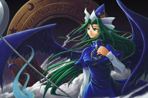 Rating: Safe Score: 4 Tags: mima touhou tubane wings User: konstargirl