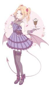 Rating: Safe Score: 16 Tags: aikatsu! daichi_nono devil dress fishnets garter heels lolita_fashion nagahara pantyhose see_through tail wings User: animeprincess