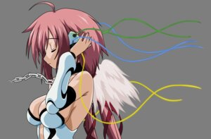 Rating: Safe Score: 25 Tags: cleavage ikaros sora_no_otoshimono transparent_png vector_trace wings User: gohanrice