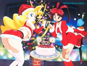 Rating: Questionable Score: 14 Tags: christmas kimura_takahiro pantyhose papillon_noir swan_white thighhighs underboob utsugi_mikoto yuusha_ou_gaogaigar User: Radioactive