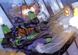 Rating: Safe Score: 11 Tags: mecha neon_genesis_evangelion yamashita_ikuto User: Aurelia