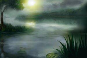 Rating: Safe Score: 11 Tags: landscape yammy_(artist) User: charunetra