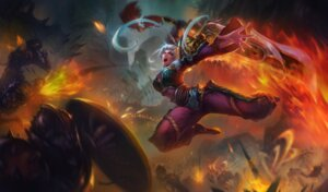 Rating: Questionable Score: 3 Tags: armor league_of_legends sword tagme User: Radioactive