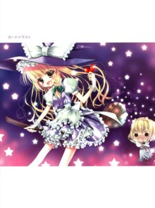 Rating: Safe Score: 4 Tags: chocolate_cube kirisame_marisa miwa_futaba touhou User: Radioactive