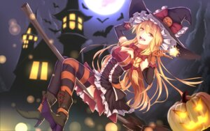 Rating: Safe Score: 46 Tags: bakanoe cleavage dress halloween heels kirisame_marisa thighhighs touhou witch User: Mr_GT