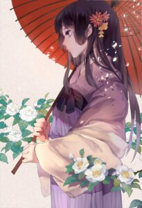 Rating: Safe Score: 33 Tags: asian_clothes dj.adonis umbrella User: charunetra