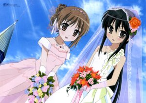 Rating: Safe Score: 31 Tags: dress ootsuka_mai shakugan_no_shana shana wedding_dress yoshida_kazumi User: admin2