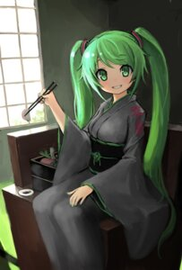 Rating: Safe Score: 25 Tags: hatsune_miku hiro1984 kimono vocaloid User: Mr_GT