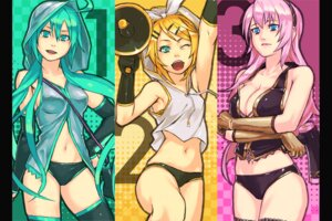 Rating: Questionable Score: 24 Tags: and_(artist) breast_hold cleavage erect_nipples hatsune_miku kagamine_rin megurine_luka pantsu vocaloid User: Radioactive