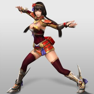 Rating: Safe Score: 15 Tags: armor cleavage heels naotora_ii samurai_warriors_4_extreme_legends thighhighs User: Yokaiou