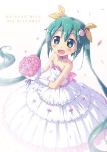 Rating: Safe Score: 22 Tags: akisorapx cleavage dress hatsune_miku vocaloid wedding_dress User: Mr_GT