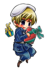Rating: Safe Score: 1 Tags: chibi finland hajime_(kaniku) hetalia_axis_powers male uniform User: Amperrior