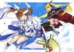 Rating: Safe Score: 14 Tags: fate_testarossa kurogin mahou_shoujo_lyrical_nanoha mahou_shoujo_lyrical_nanoha_a's mahou_shoujo_lyrical_nanoha_the_movie_2nd_a's takamachi_nanoha thighhighs User: gohanrice