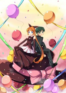 Rating: Safe Score: 9 Tags: asuka_daiki haneoka_meimi kaitou_saint_tail luky pantyhose User: ddns001