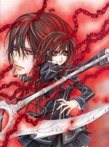 Rating: Safe Score: 7 Tags: cross_yuuki hino_matsuri kuran_kaname vampire_knight User: Radioactive