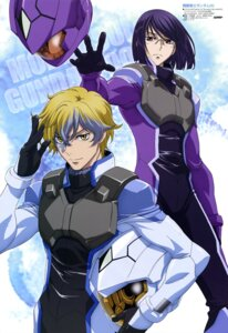 Rating: Safe Score: 6 Tags: chiba_michinori graham_aker gundam gundam_00 tieria_erde User: drop