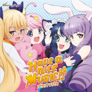 Rating: Safe Score: 14 Tags: animal_ears bunny_ears disc_cover megane show_by_rock!! User: blooregardo