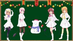 Rating: Safe Score: 13 Tags: chiyoda_momo christmas heels hinatsuki_mikan horns lilith_(machikado_mazoku) machikado_mazoku pantyhose tail thighhighs yoshida_yuuko_(machikado_mazoku) User: saemonnokami
