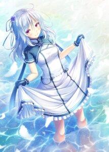 Rating: Safe Score: 39 Tags: akashio dress skirt_lift wet User: Mr_GT