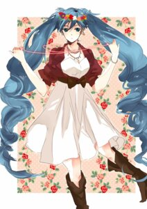 Rating: Safe Score: 15 Tags: dress hatsuko hatsune_miku vocaloid User: charunetra