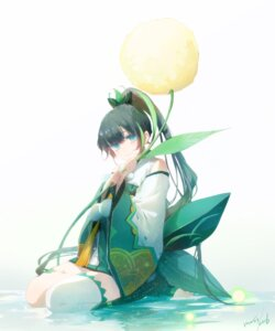 Rating: Safe Score: 28 Tags: asian_clothes autographed moss_(2225028) onmyouji thighhighs ying_grass User: charunetra