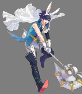 Rating: Questionable Score: 2 Tags: animal_ears bunny_ears chrom fire_emblem_heroes male tagme transparent_png weapon User: Radioactive